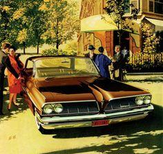 1961 Pontiac Bonneville Vista - 'Le Matignon': Art Fitzpatrick and Van Kaufman
