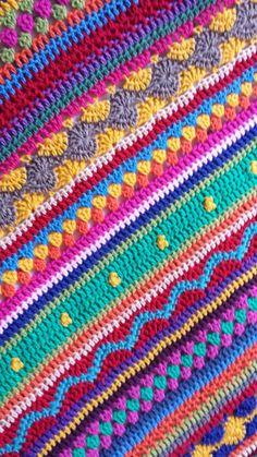Ravelry: riverderby's Fun Stripe Blanket | Вязание пледы ...