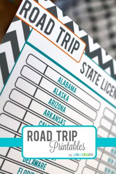 Road Trip Games for Kids - Free Printables | by UrbanBlissLife.com | TodaysCreativeBlog.net