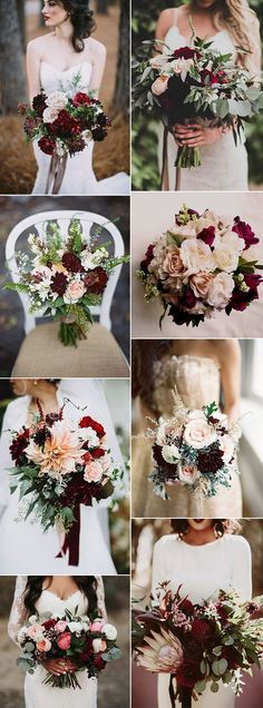 stunning-burgundy-bridal-flower-bouquets-for-all-seasons.jpg (600×1619)
