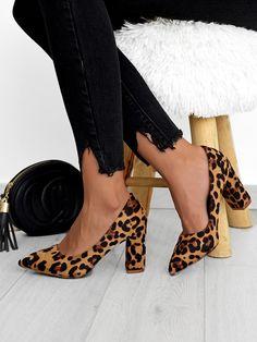 Γόβες Λεοπάρ - Call Around Heels, Fashion, Zapatos, Heel, Moda, Fashion Styles, High Heel, Fashion Illustrations, Stiletto Heels