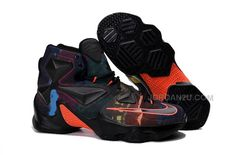 best website 48728 dd2c9 Find 2016 Nike Mens Basketball Sneakers Lebron 13 Black Orange Purple Blue  388632 online or in Lebronshoes. Shop Top Brands and the latest styles 2016  Nike ...