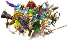 #Hyrule Warriors Legends Artwork from the official artwork for #Hyrule Warriors Legends #Zelda http://www.zelda-temple.net/games/spin-off-zelda-games-on-consoles