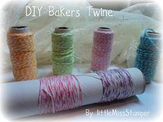 Handmade Bakers Twine - DIY