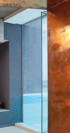 Concrete, Glass and Copper