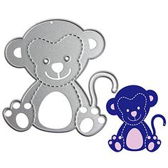 Arich Monkey Metal DIY Cutting Dies Stencil Scrapbook Card Album Paper Embossing Craft >>> To view further for this item, visit the image link.Note:It is affiliate link to Amazon.