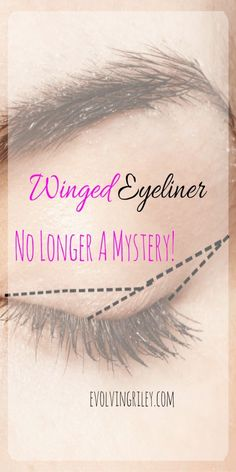Winged Eyeliner Tutorials - Perfect Winged Eyeliner Is No Longer A Mystery - Easy Step By Step Tutorials For Beginners and Hacks Using Tape and a Spoon, Liquid Liner, Thing Pencil Tricks and Awesome Guides for Hooded Eyes - Short Video Tutorial for Perfec Best Winged Eyeliner, How To Do Winged Eyeliner, Winged Eyeliner Tutorial, Winged Liner, Perfect Eyeliner, Simple Eyeliner Tutorial, Dramatic Eyeliner, Eyeliner Hacks, Eyeliner Styles