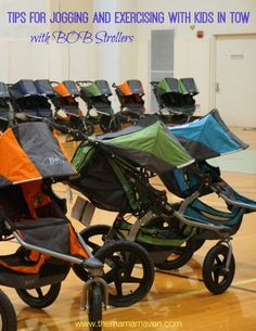 Tips for Jogging and Exercising With Babies and Toddlers in Tow –  with BOB Strollers @britax #BOBsays