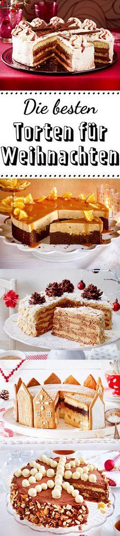 Himmlische Torten, die deine Kaffeegäste begeistern werden. #weihnachten #weihnachtsbäckerei #torte