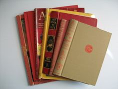 7 gutted books vintage book covers . vintage gutted by GTDesigns