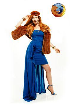 Internet Browsers Transformed Into Fashion Models - My Modern Metropolis