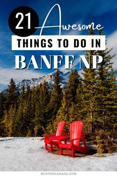 Are you planning a vacation in Banff? Here's your ultimate guide to Banff National Park, including a park pass, getting there, weather, winter and summer activities, and all the top things to do… More Adventure Activities, Adventure Tours, Adventure Travel, Banff National Park Canada, National Parks, Banff Canada, Backpacking Canada, Canada Travel, Canadian Holidays