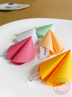 Origami Fortune Cookies Little Gift