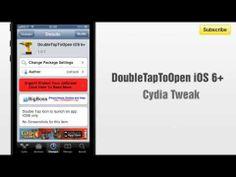 DoubleTapToOpen iOS 6+ cydia tweak allows you to double-tap app icons to launch app - http://www.bestcydiatweaks.com/doubletaptoopen-ios-6.html/