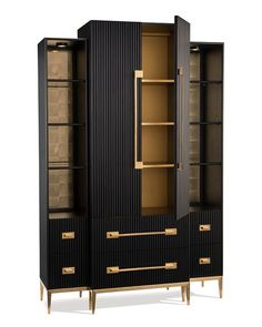 The best of High-End Cabinet Design in a selection by Boca do Lobo. Here you'll find beautiful cabinets in a variety of styles, from contemporary to mid-century modern, with a vast selection of materials, from Oak to Brass, Silver to Walnut featuring distressed or lacquered finishes.#bocadolobo #luxuryfurniture #interiordesign #designideas #homedesignideas #homefurnitureideas #furnitureideas #furniture #homefurniture #livingroom #diningroom #cabinets #luxurycabinets #moderncabinets…