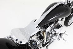 Hard Rock Chopper made by Orange County Choppers for our 40th Anniversary in 2011  - Yes... The seat is a guitar :)