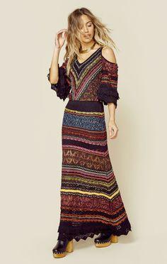 Alberta Maxi Dress | Cecilia Prado | Planet Blue