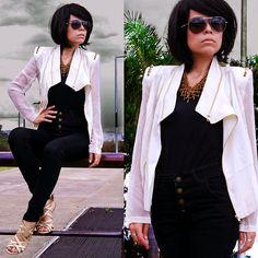 Ba Ba S Su White Jacket