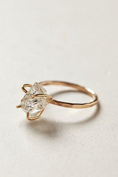 Beautiful ring by Anthropology. I absolutely adore this and wouldn't mind it on my finger ;)