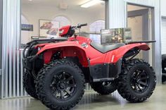 New 2016 Yamaha Kodiak 700 EPS ATVs For Sale in Michigan. 2016 YAMAHA Kodiak 700 EPS, This NEW 2016 Yamaha Kodiak 700 EPS Red is a great machine with Power steering, legendary Yamaha reliability and a tough rugged look. legendary. You know what you are getting when buying a NEW Yamaha and that's a machine that you won't regret buying. For years down the road this Great ATV will get the job done for you. Give us a call today and set up a time to come familiarize yourself with a NEW Yamaha…