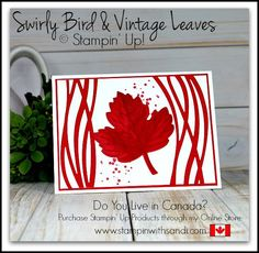 147 best card design only two colors images on pinterest in 2018 handmade card red and white stampin up swirly bird oh m4hsunfo