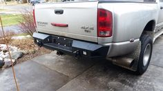 Customizable WIY Rear Standard - Dodge 2500-3500 2003-2005 Truck (660) - MOVE Bumpers