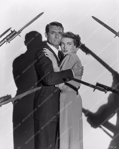 Cary Grant Paula Raymond in Crisis cool shot 711-36
