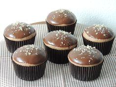 Perníkové muffiny plněné džemem