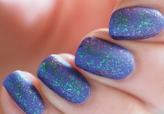 As it is the #yearoftheflakies a little #nycnewyorkcolor Matte Me Crazy!