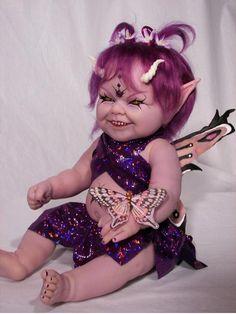 Creepy faerie doll