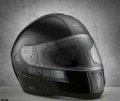 Mens Nolan Harley Davidson M1V 17mm Motorcycle Helmet XXL Interphone Stereo F4