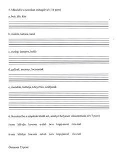 Grammar, Sheet Music, Literature, Teaching, Writing, Education, School, Literatura, Onderwijs