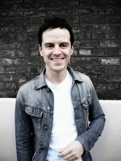 Moriarty (Andrew Scott) is actually kind of...dare I say it?...cute! (I can hear Sherlock ranting about stupid American girls from here.)