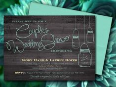 COUPLES SHOWER INVITATION Bbq Couples shower Bbq by DigitalLine ...