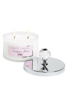 As if this flirty rose, raspberry, and black pepper scented candle isn't enough, it comes housed in a reusable decorative jar topped with a sparkling cut-crystal knob.