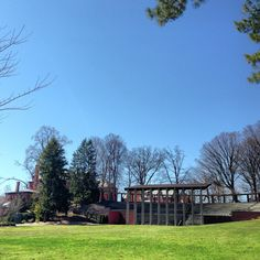 Mount Holyoke in the spring