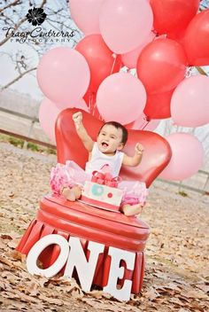 My cousin's 1st Bday!!! I love her!!! <3