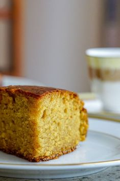 This whole wheat jaggery cake is a healthier take on the classic pound cake. This delightful cake is moist, light, and airy and a perfect companion for your evening tea! It is eggless as well. Eggless Desserts, Eggless Baking, Cake Recipes Eggless, Easy Desserts, Jaggery Recipes, Baking Recipes, Snack Recipes, Healthy Cake Recipes, Fast Recipes
