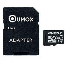 QUMOX 16GB MICRO SD MEMORY CARD CLASS 10 UHS-I 16 GB SPEICHERKARTE HighSpeed Write Speed 12MB/S read speed upto 70MB/S - http://kameras-kaufen.de/qumox/16-gb-qumox-32gb-micro-sd-memory-card-class-10-uhs-i-s