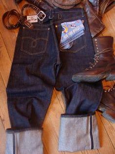 Jeans retro style vintage Paradirama modèle 1927