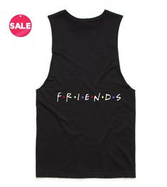 Friends Logo Tank Top. Customize your own shirt, cheap custom tshirts, custom your own shirt, make your own custom shirt.