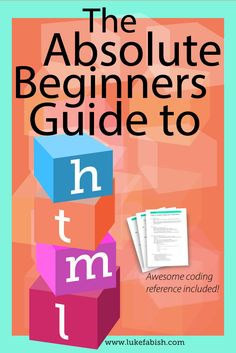 Beginners guide to HTML | How to write HTML | HTML Introduction