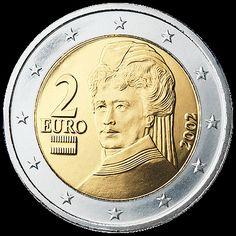 Austria: 2 Euro Coin (National Side)