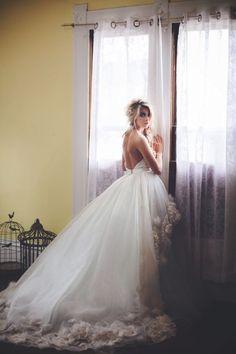 Arma by Cocoe Voci, beautiful wedding gown (wedding dress)