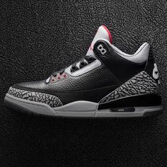 quality design 23d2e e0cd4 Air Jordan 3 Retro OG Black Cement