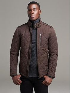 Quilted Jacket from Banana. MUST HAVE!