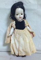 "VINTAGE 1940'S MADAME ALEXANDER SNOW WHITE 13"" COMPOSITION DOLL - ORIG. CLOTHES"