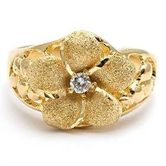 I have a ring almost just like this in sterling silver with a CZ stone... I wore it in my wedding! *AB*