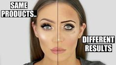 Same Products... COMPLETELY Different Results! Makeup Dos and Don'ts | STEPHANIE LANGE - YouTube