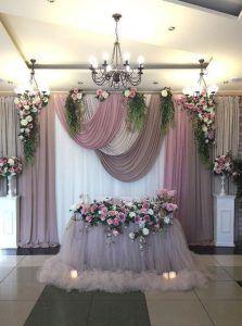 Diy Wedding Backdrop Head Table Curtains Ideas For 2019 Wedding Stage, Wedding Ceremony, Dream Wedding, Wedding Day, Wedding Beauty, Church Wedding, Party Wedding, Wedding Head Tables, Wedding Back Drop Ideas
